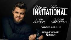 Giải cờ vua online Magnus Carlsen Invitational