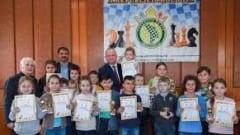 Giảng dạy cờ vua trong trường học ở Moldova